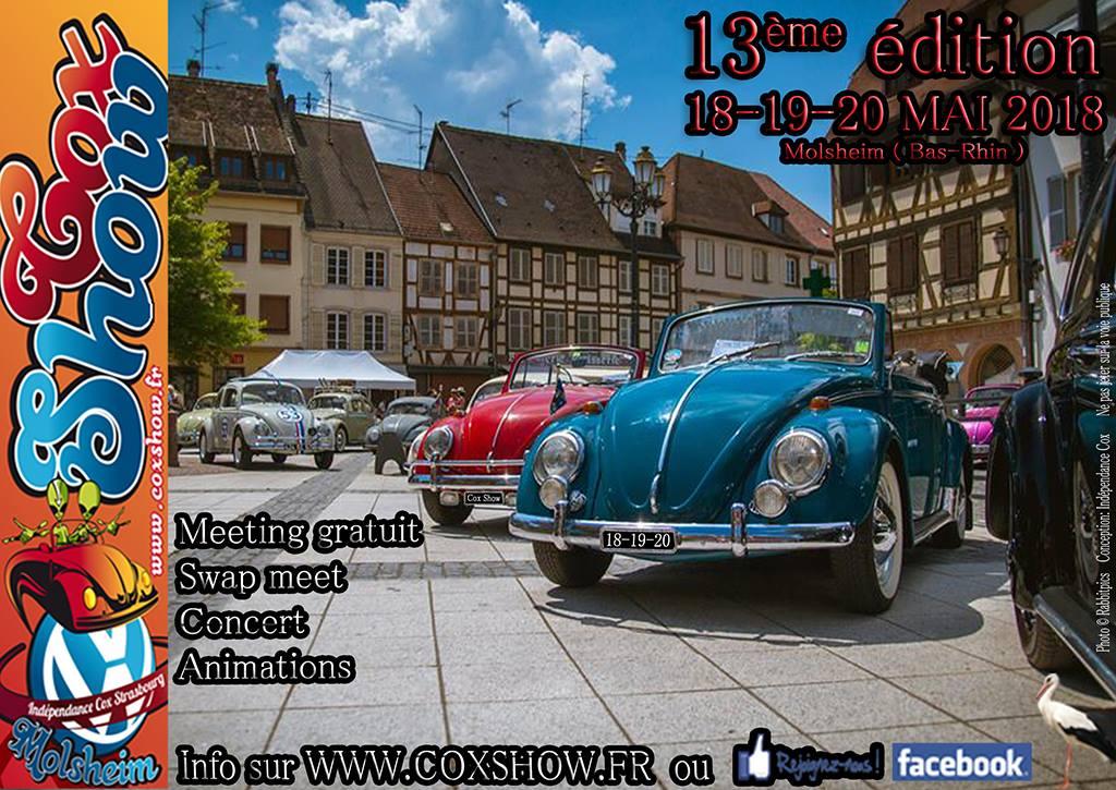 Cox Show de Molsheim